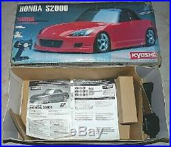 KYOSHO PURETEN GP nitro Honda S2000 31021 NEW in BOX RTR