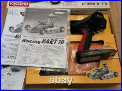 KYOSHO VINTAGE 1/4 RACING KART 10 Rc NITRO BOX RARE