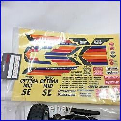 Kyosho 3136H Turbo Optima Mid SE Project New No Box NOS Never Used Rare VTG