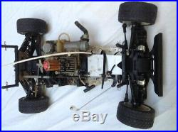 Kyosho Ford RS200 nitro 4WD rally car racer. Boxed vintage