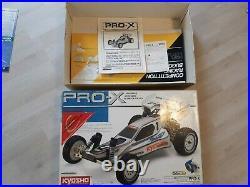 Kyosho Pro X + Manual and box