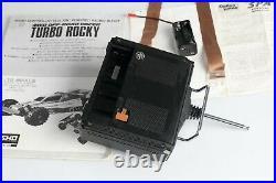 Kyosho vintage turbo rocky used with box, radio lemans 480s