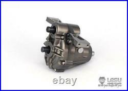 LESU 1/14 Differential Lock Gear Box TAMIYA RC Tractor Truck Dumper Transmission