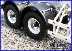 LESU 20 Feet Metal Box Container Trailer 1/14 DIY TAMIYA RC Car Tractor Truck