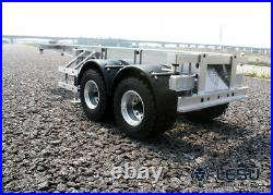 LESU 20 Feet Metal Box Container Trailer for 1/14 TAMIYA RC Model Tractor Truck