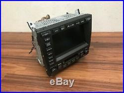 Lexus Oem Gs300 Front Navigation Monitor Display Screen Map Radio 2001-2005