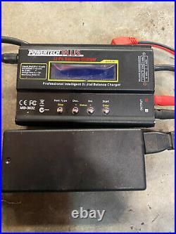 Losi 8ight Truggy 8 spektrum DX3S telemetry 454 starter box batteries nitro RC