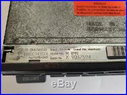 Mercedes Benz OEM Grand Prix Cassette Radio Stereo Becker 0780 88-89 W124