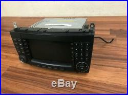 Mercedes Benz Oem W203 C240 C280 Radio Navigation CD Drive Comand Map Gps 05-07