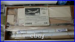 MidWest Malibu. 40 Sport Airplane Flyer Kit A New Generation Trainer New in Box