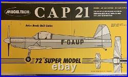 Model Tech Giant CAP 21 ARF Model Airplane Kit New In Box