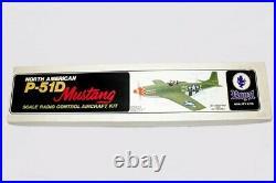 N. O. S. Royal Kits P-51d Mustang Senior 1976 New In Box