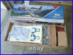 NEW IN BOX E-Flite Platinum Series P-51B Mustang 32e ARF RARE 1/6th scale