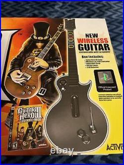 NEW IN BOX PS3 Guitar Hero III Legends of Rock Wireless Bundle (PlayStation 3)