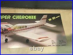 NEW Model Tech MT 3155 Piper Cherokee RC Model Plane 49 1/2 Wingspan IN BOX