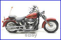 New Bright R/C Radio Control Harley-Davidson Fat Boy 9.6 Volt 49 Mhz #6931 + Box