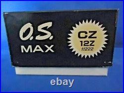 O S Cz12z Nitro Rc Car Engine New In Box