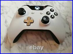 Official Microsoft Xbox One Lunar White Special Edition Controller Boxed n5