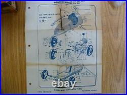 Ohlsson & Rice tether car power unit. NOS. 29 engine. Box instructions & parts bag
