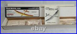 Olympic 650 By Airtronics 72 R/c Sailplane Kit New In Box