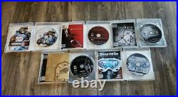 Original Fat PlayStation 3 PS3 40GB Bundle with Box, Controller & 5 Games CECH-G01