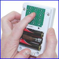 Outdoor 3G GSM PIR Alarm (UltraPIR Texting Bird-box) Remote Control Operated