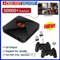 PRO 4K HD Wireless WiFi HDMI 32G TV Box Video Game Console For PS1/N64/DC/NDS