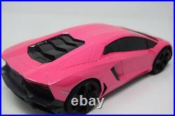 Pink Lambo Rc Car Radio Remote Control Car Wireless 1/16 Scale NEW BOXED