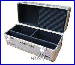Portable Dual RC Drone Carry Alu Box/Case for Futaba18MZ 10C 8FG 8J T6K 14SG 10J