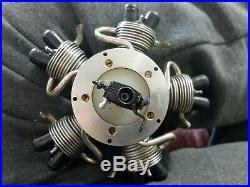 Powermax 5 Cylinder Radial Engine In Original Box And Manual