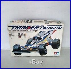 RARE Vintage Tamiya Thunder Dragon 4WD (Boxed)