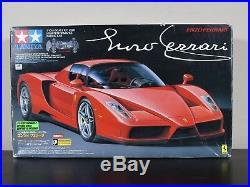Rare NEW in open Box Tamiya 1/10 R/C ENZO FERRARI # 58298 TB-01 Chassis