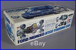 Rare New Open Box 1/10 Tamiya R/C 58143 Ford Mondeo BTCC Touring Car FF Chassis