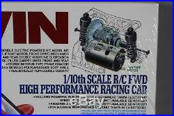 Rare New in Seal Box Tamiya 1/10 R/C Toyota Tom's Levin 58131 FF01 Chassis 1993