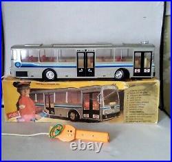 Rare RICO HUGE Mercedes Benz Bus EXCELLENT 70 cm LONG (Boxed)