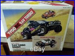 Rare Vintage Tyco R/C 9.6V Turbo Baja Bandit Nissan Truck Empty Box 1989