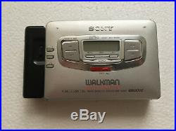 SONY WM-GX655 radio cassette corder with REMOTE CONTROL in Box. Made in Japan
