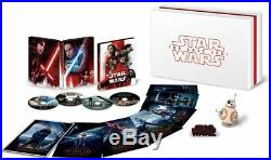 STAR WARS THE LAST JEDI MovieNEX Premium BOX or Amazon only R2-Q5 radio control