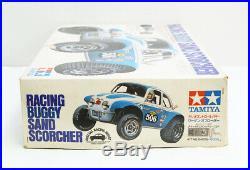 Sand Scorcher TAMIYA Radio Control Car 1/10 Vintage 1979 Original Box Japan