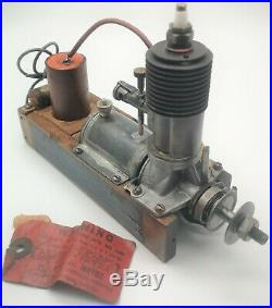 Scarce Brown Jr model B in box vintage ignition model aircraft engine