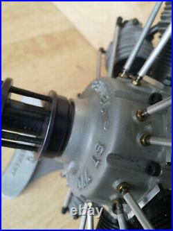 Seidel ST 770 rc radial seven cylinder engine NEU mit Box Kiste und Zubehör