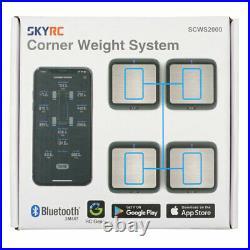 SkyRC Bluetooth WiFi Wireless Corner Weight System RC Car Setup SK-500036