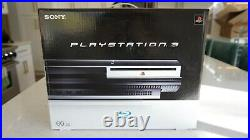 Sony PlayStation 3 PS3 CECHA01 CECH-A01 Original Box/Cables/Controllers Complete