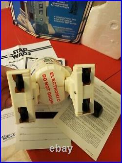 Star Wars Radio Controlled R2-D2 Kenner Remote 1978 Original Box Instructions