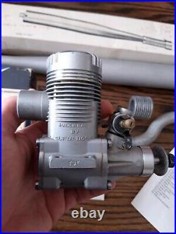 Supertigre X61 FI RE R/C TST + header + tuned pipe, Boxed not run