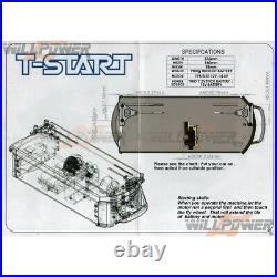 T-Start Nitro Starter Box (RC-WillPower) TRAXXAS REVO Kyosho FO-XX Mad Crusher