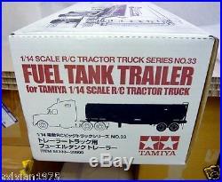 TAMIYA # 56333 1/14 RC Fuel Tanker Trailer Gallant Eagle NEW IN BOX