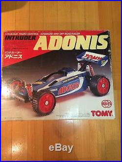 TOMY INTRUDER ADONIS RACING BUGGY VINTAGE RC tamiya kyosho NEW IN BOX