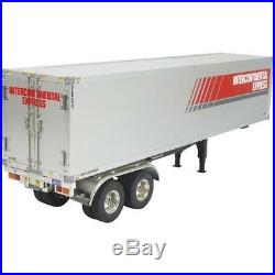 Tamiya 56302 Semi Box Trailer Kit for use with Tamiya 114 RC Truck Kits