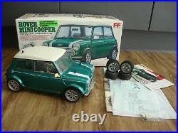 Tamiya 58149 1/10 Rover Mini Cooper With Spares Box And Manual